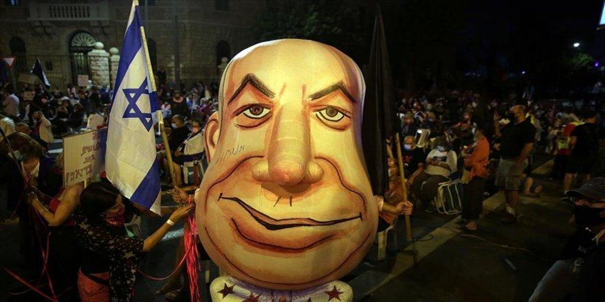 Netanyahu'nun duruşmasının ertelenmesi protesto edildi: 7 gözaltı