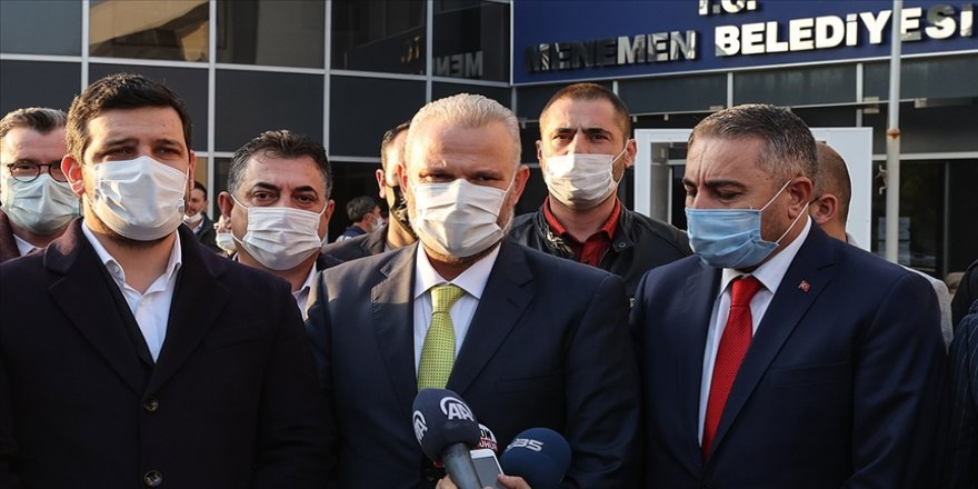 AK Parti'nin adayı Aydın Pehlivan Menemen Belediye Başkan Vekili olarak belirlendi