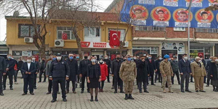 PKK'lı teröristlerin Diyarbakır'da 5 yıl önce düzenlediği bombalı saldırıda şehit olanlar anıldı