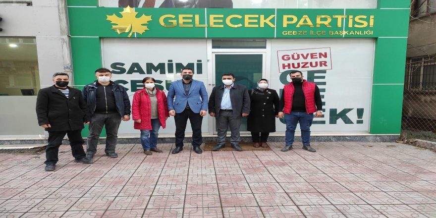 ONAT Alüminyum işçileri Arabacı'yı Ziyaret Etti