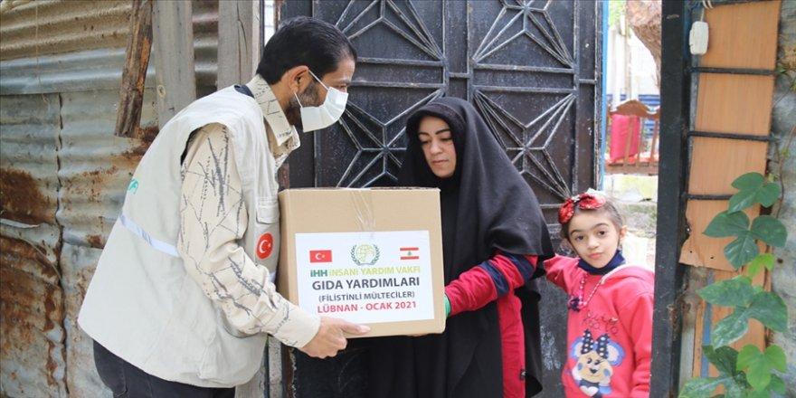 İHH'dan Lübnan'daki 150'den fazla Filistinli mülteci aileye insani yardım