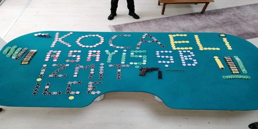 Kocaeli'de kumar oynayan 16 kişiye ceza yazıldı