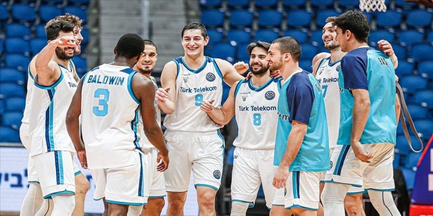 FIBA Şampiyonlar Ligi'nde play-off'lara yükselen Türk Telekom'da yüzler gülüyor