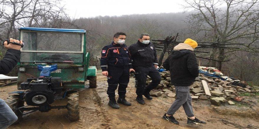 Kocaeli'de mahsur kalan kişiler için arama kurtarma operasyonu gerçekleştirildi