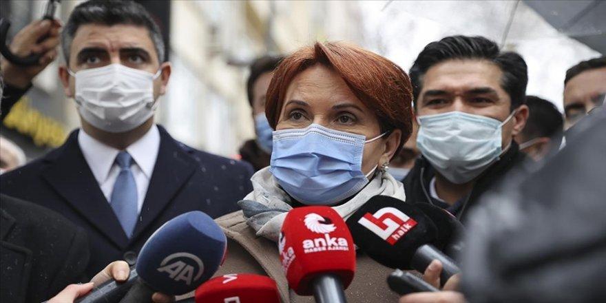 İYİ Parti Genel Başkanı Akşener: Anlaşılıyor ki partimizin sistemi içerisinde yargı çok hızlı çalıştı bu çok manidar