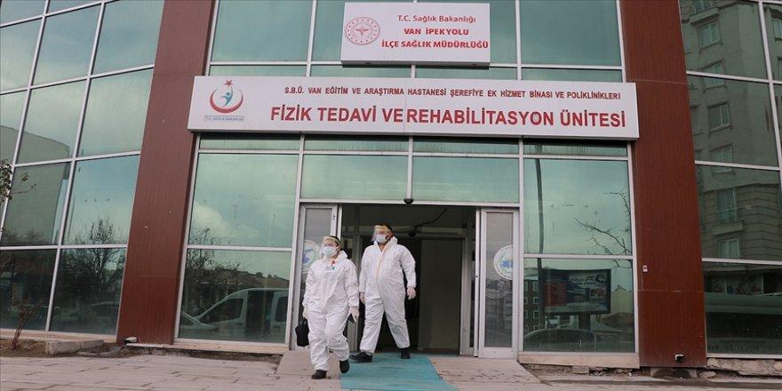 Van'da alınan önlemlerle Kovid-19 vaka sayısı en düşük seviyeye geriledi