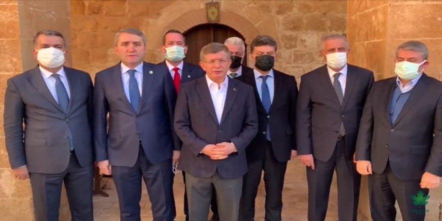 Ahmet Davutoğlu'dan 'Özdağ'a saldırı' açıklaması: Siyasi terördür