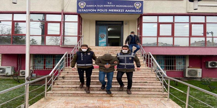 Darıca'da evlerden hırsızlık yapan şüpheli tutuklandı