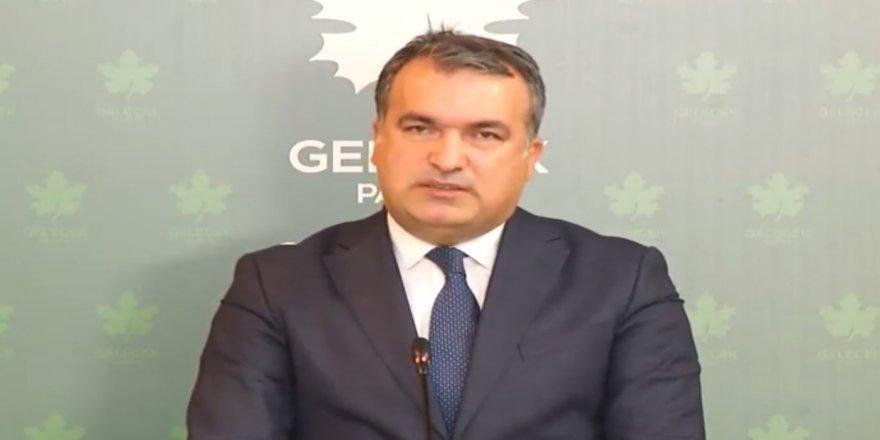 Gelecek Partisi'nden AK Parti ve MHP'ye çağrı: Türkiye, iktidarın ortağının mafya olduğu bir ülke haline gelemez