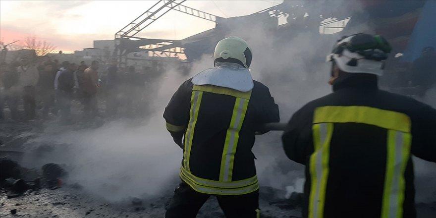Suriye'nin kuzeyindeki Azez ilçesinde bombalı terör saldırısı: 1 ölü, 6 yaralı