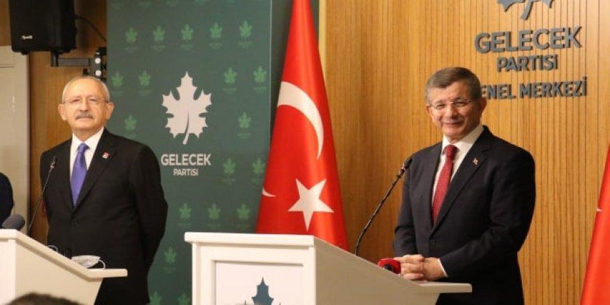 Davutoğlu ile Kılıçdaroğlu'ndan ilerleyen saatlerde ortak açıklama