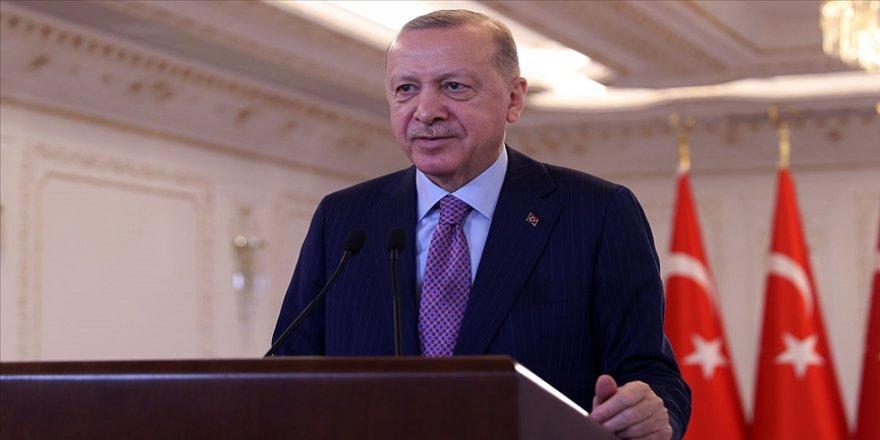 Cumhurbaşkanı Erdoğan Telegram ve BiP uygulamasından bugünkü mesaisini paylaştı