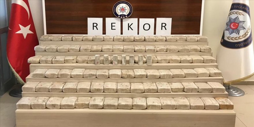 Uyuşturucuyla mücadele birimleri 2020'yi rekorla kapattı