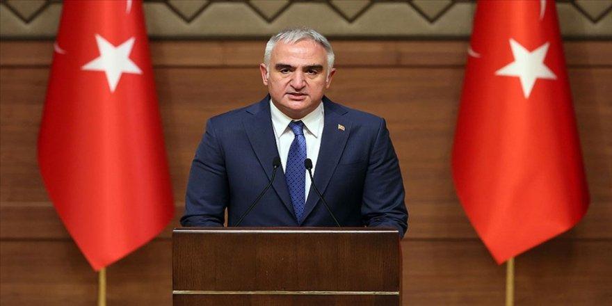 Bakan Ersoy: Tüm etkinliklerimizin yurt ve dünya sathında yankı bulmasını amaçlıyoruz