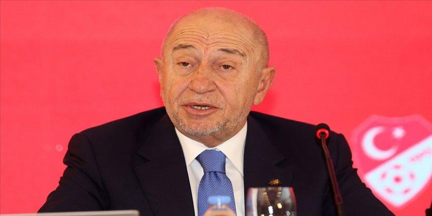 TFF Başkanı Özdemir: 1. lig kulüpleri de mali yapılarının güçlendirilmesi konusunda destek istediler