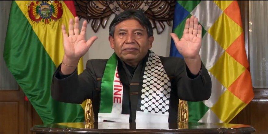 Bolivya Devlet Başkan Yardımcısı Choquehuanca'dan 'Filistin yeniden olacak' mesajı