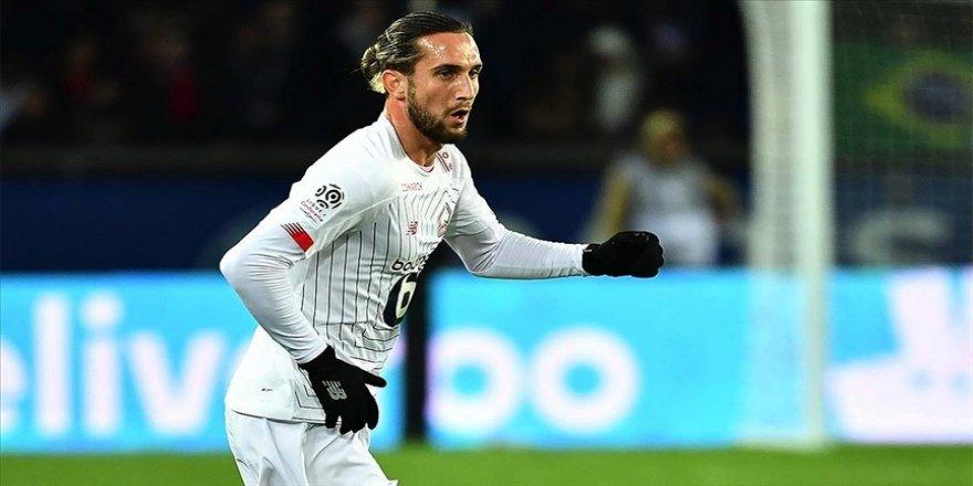Yusuf Yazıcı Ligue 1'de aralık ayının futbolcusu seçildi