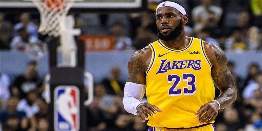 NBA'de Lakers, LeBron James'in öne çıktığı maçta Bucks'ı mağlup etti