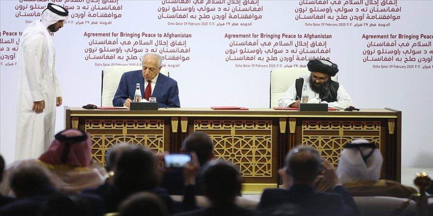 Biden yönetimi, Şubat 2020'de imzalanan ABD-Taliban barış anlaşmasını gözden geçirecek