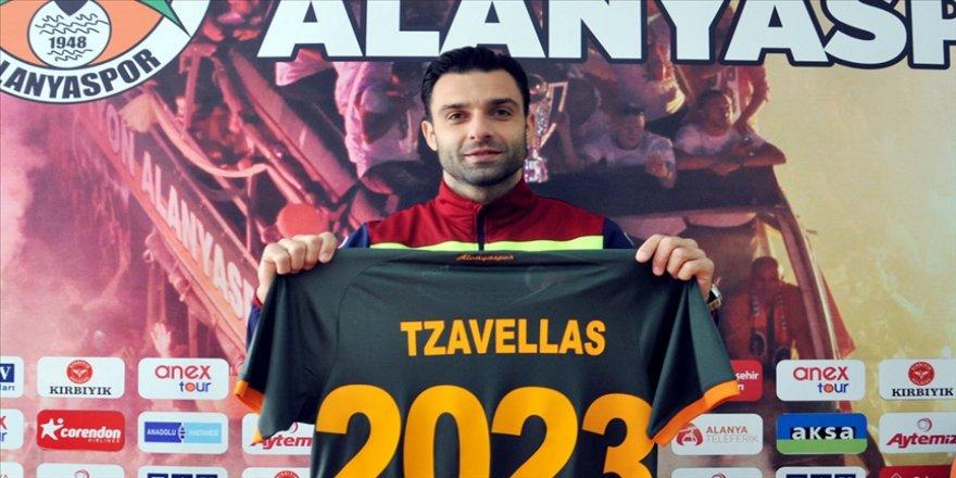 Aytemiz Alanyasporlu futbolcu Tzavellas PFDK'ye sevk edildi