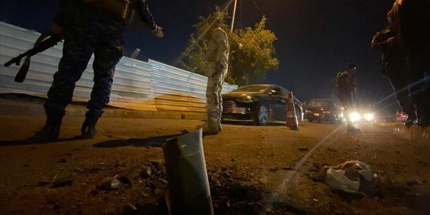 Irak'ta Bağdat Havalimanı yakınlarına füze saldırısı düzenlendi