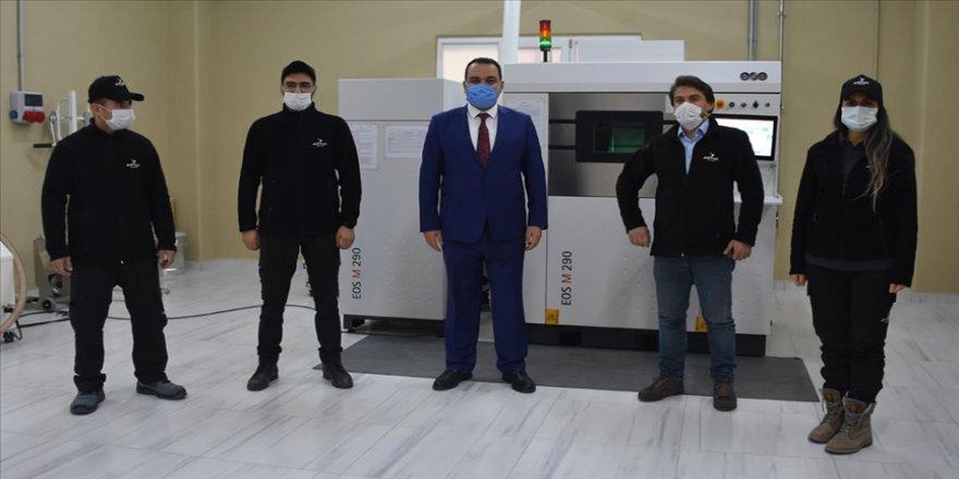 Afyonkarahisar'daki şirket yüksek teknolojide kullanılan titanyum parçaları üretiyor