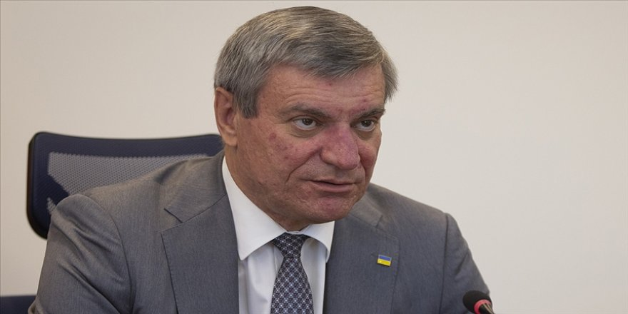 Ukrayna Stratejik Endüstriler Bakanı Uruskiy, Türkiye'den öğrenebilecekleri çok şey olduğunu belirtti