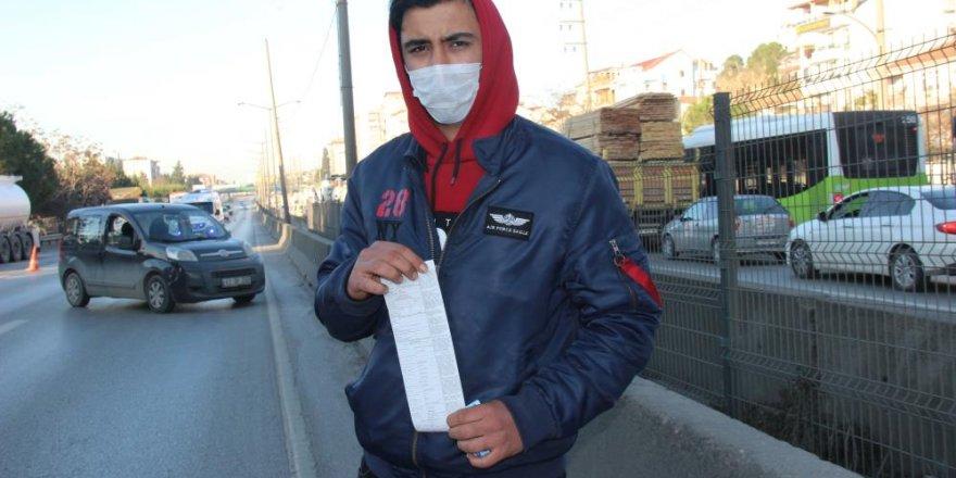 İş yerinin çalışma listesinde ismi görünmeyince 3 bin 150 TL ceza yedi