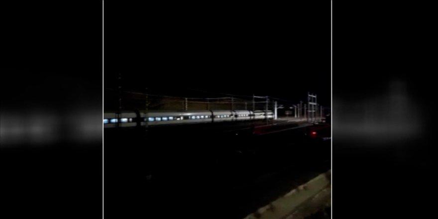 Ankara-Sivas YHT hattında test sürüşleri devam ediyor