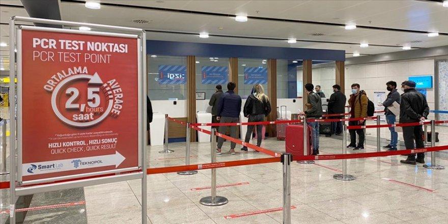 İstanbul Sabiha Gökçen Havalimanı'nda antijen ve antikor testlerinin yapımına başlandı