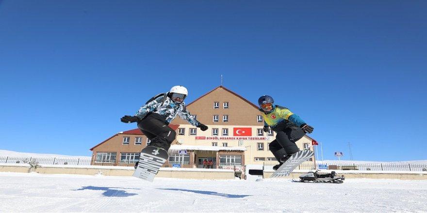 Doğu Anadolu'nun gözde kayak merkezleri ziyaretçilerini bekliyor