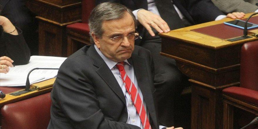 Eski Yunanistan Başbakanı Samaras: İstikşafi görüşmelerin başlamasıyla Türkiye'ye yönelik AB yaptırımlarının önü kesildi