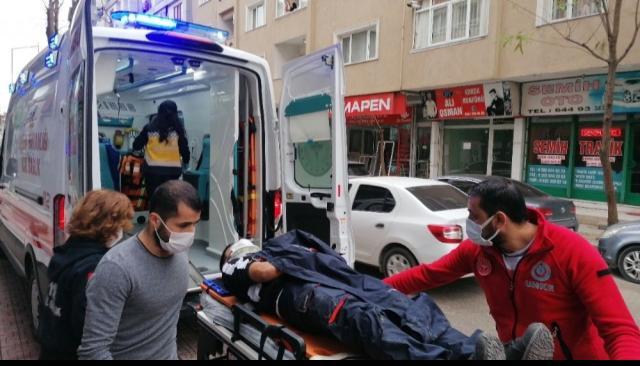 GebzeSultan Orhan Mahallesi Menzilhane Caddesi üzerinde kaza meydana geldi.