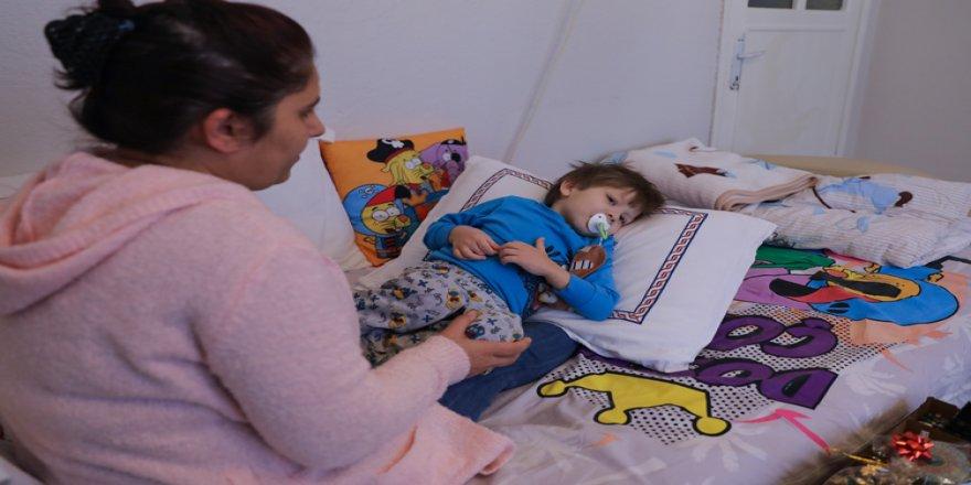 Ana yüreği 4 yaşındaki oğlu Ulus'a yeni bir 'kalp' için çarpıyor