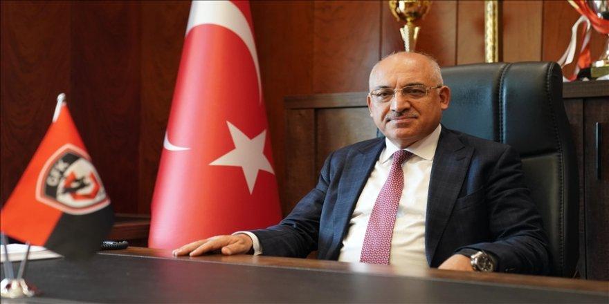 Gaziantep Futbol Kulübü Başkanı Büyükekşi: Talihsizlikler olmasa belki de ligin zirvesindeydik