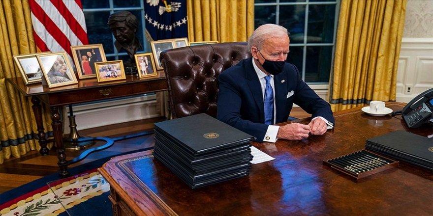 ABD Başkanı Biden Yemen'deki Husilere uygulanan bazı yaptırımları askıya aldı