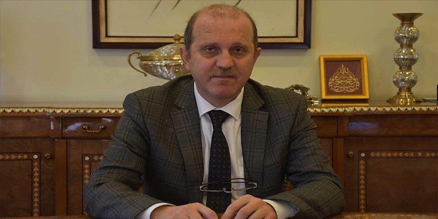 Kovid-19'u yenen KTÜ Rektörü Prof. Dr. Çuvalcı: Hastalar için geceler sabah olmuyordu, çok zor geçiyordu
