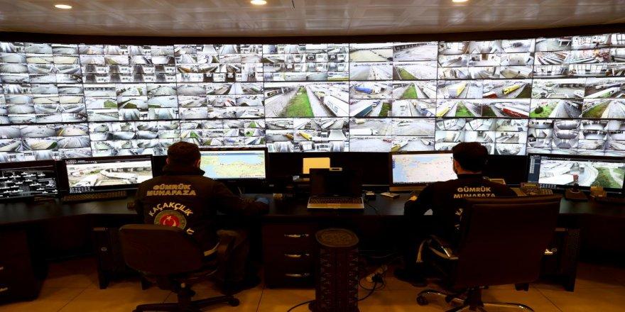 Gümrük personelinin teknolojik yardımcıları sınır kapılarında güvenliği üst düzeye taşıyor
