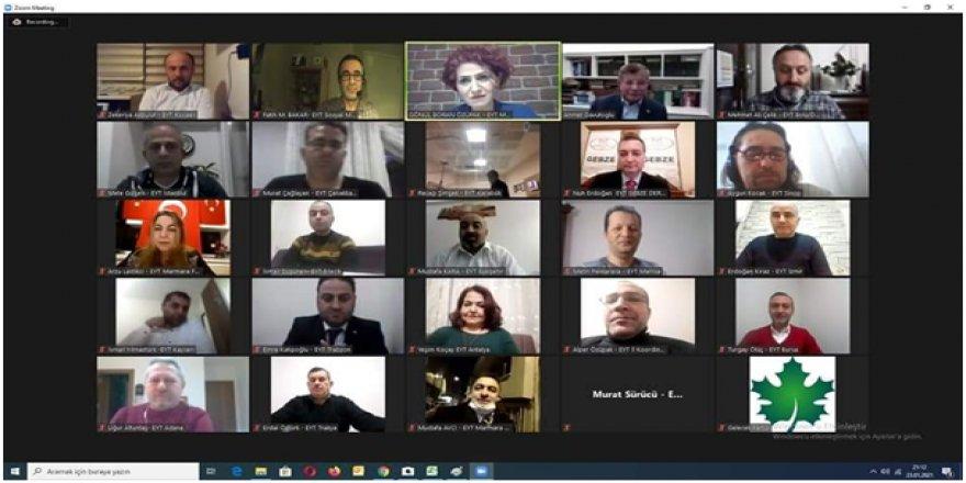 EYT' liler,Gelecek Partisi,CHP, Yeniden Refah Partisi, İyi Parti genel başkanları ile bir araya geldi