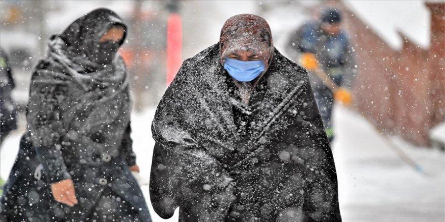 Doğu Anadolu'daki 6 ilde kar yağışı bekleniyor