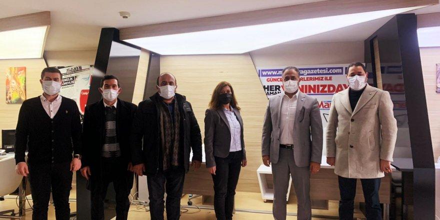 Gebze Deva Partisi'nden Serap Çakır'a ziyaret