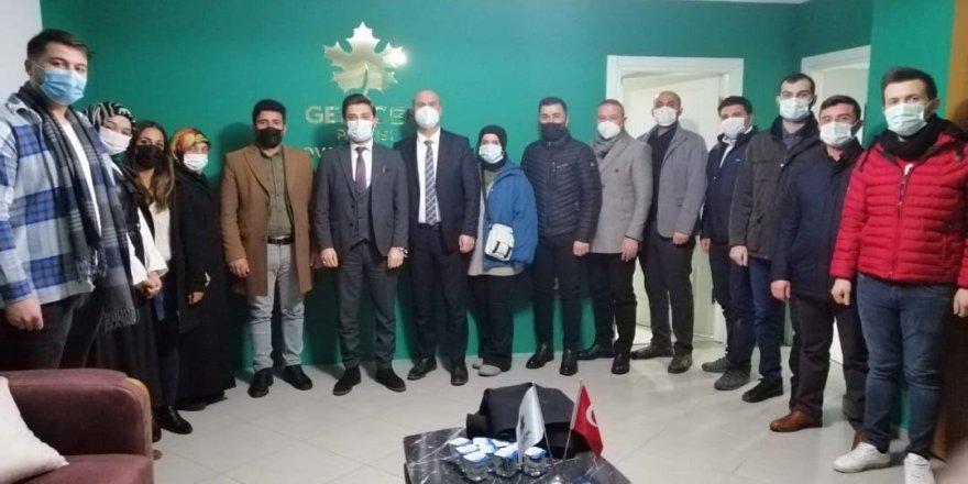 Deva Partisi Çayırova'dan,GelecekPartisi Çayırova İlçe Başkanlığı'nı ziyaret