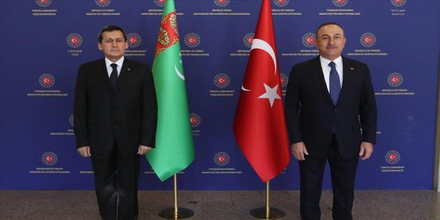 Türkmenistan Dışişleri Bakanı: Enerji, ulaştırma, yüksek teknolojiler ve başka konularda birlikte projeler yapabiliriz