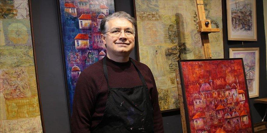 Ressam Cemal Toy, sanat yaşamını ve eserlerini anlattı
