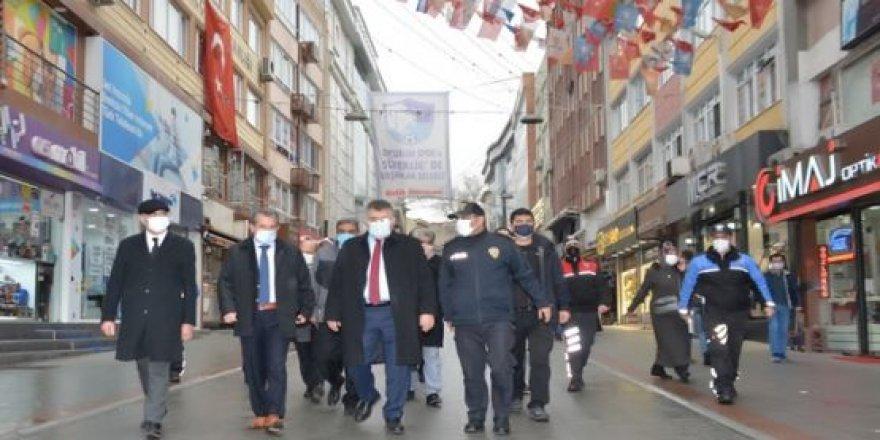 Kocaeli İl Emniyet Müdürü Veysal Tipioğlu  Gebze'deki denetimlere katıldı