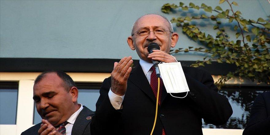 CHP Genel Başkanı Kılıçdaroğlu: Ülkeye huzuru ve refahı getireceğiz