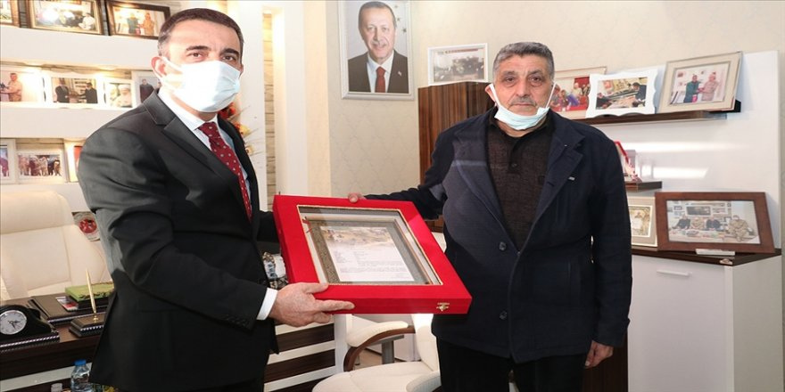 Siirt'te Gara şehidi Sungur'un ailesine şehadet belgesi verildi