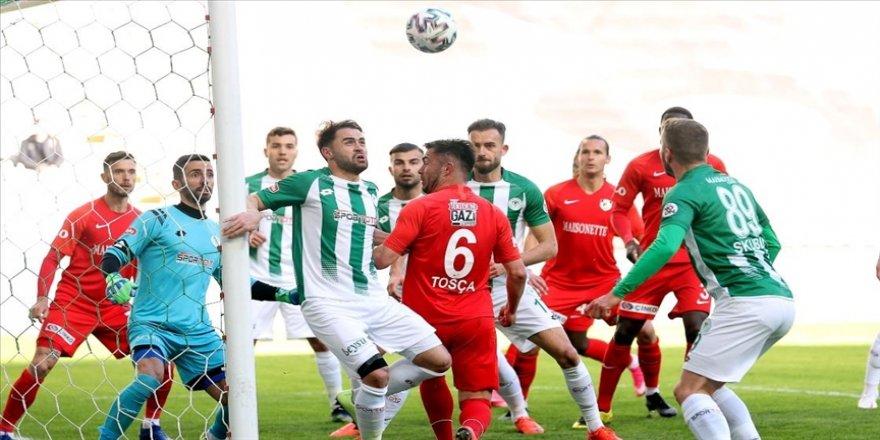 Konya'da golsüz beraberlik
