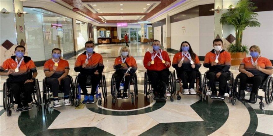 Milli para okçulardan Dubai'de 8 madalya