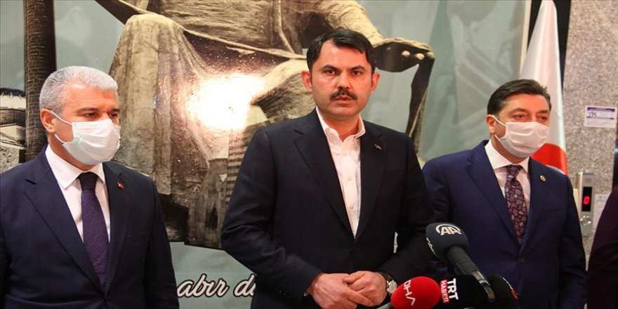 Çevre ve Şehircilik Bakanı Kurum: Kanal İstanbul Projesi'ni İstanbul'umuza kazandıracağız